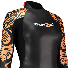 Dare2Tri To Swim Wetsuit Women black/orange